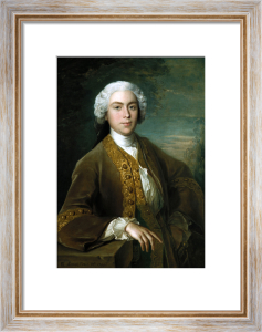 Portrait Of Lord Trimleston by Philippe Mercier