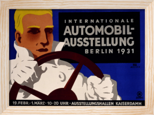 Internationale Automobil-Austellung, Berlin 1931 by Bernhard Rosen