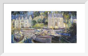 Harbour at La Roche Bernard by Anne Rea