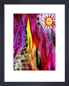 Sparkling flames by Luisa Gaye Ayre