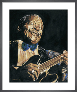 B B King by John Wilsher