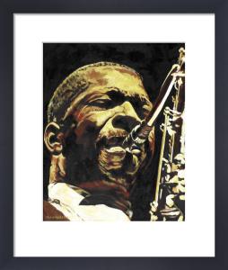 John Coltrane by John Wilsher