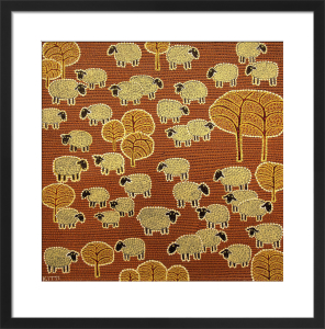 Counting Sheep by Thai Fine Art