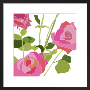 Roses are Pink by Louise Cunningham