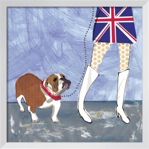 British Bulldog by Louise Cunningham