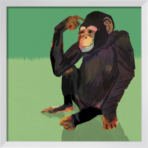 Chimp by Louise Cunningham