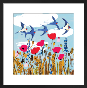 Summer Swallows by Louise Cunningham