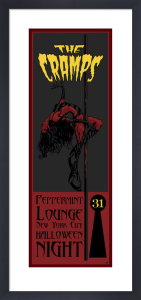 The Cramps - Peppermint Lounge by Christopher James Dayman