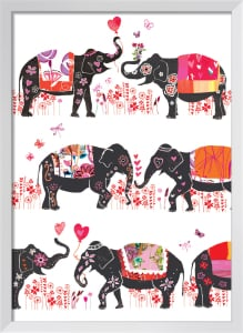 Lovely Elephants by Louise Cunningham