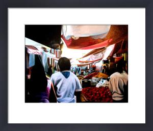 El Mercado de Patzcuaro by James Knowles