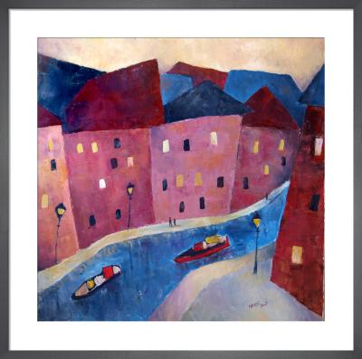 Canal Urban Lights by Jeremy Mayes