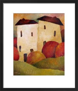 Two Huddled Houses by Jeremy Mayes