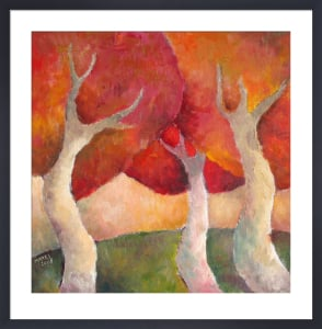 Red and Yellow Trees by Jeremy Mayes