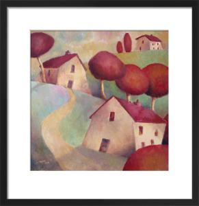 Little Red Village by Jeremy Mayes