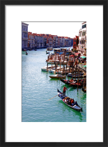 Gondola on the Grand Canal Venice by Wayne Williams