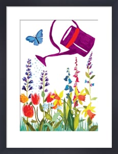 Watering Can by Louise Cunningham
