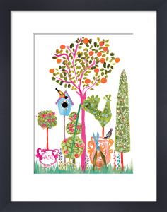 Garden Paradise by Louise Cunningham
