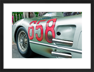 Mercedes SLR 1955 by Marc Lickfett