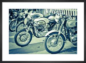 Vintage Motorbikes by Marc Lickfett