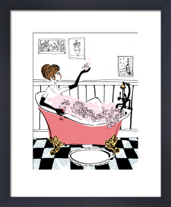 Glam Bath by Louise Cunningham