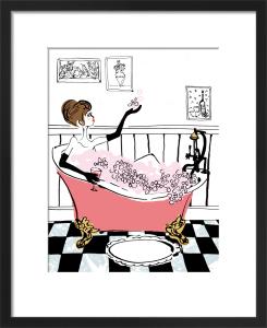 Glam Bath by Louise Cunningham
