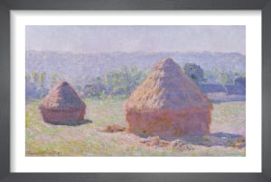 The Haystacks at Giverny, 1891 by Claude Monet