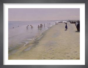 Summer Day at the South Beach, Skagen, 1884 by Peder Severin Kröyer