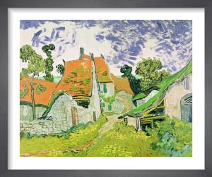 Street in Auvers-sur-Oise, 1890 by Vincent Van Gogh