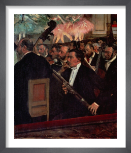 The Opera Orchestra, c.1870 by Edgar Degas