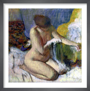 After the Bath by Edgar Degas