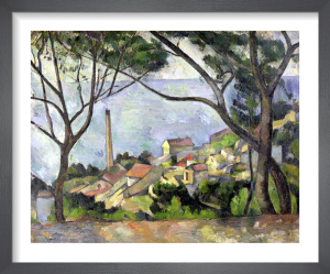 The Sea at l'Estaque, 1878 by Paul Cezanne