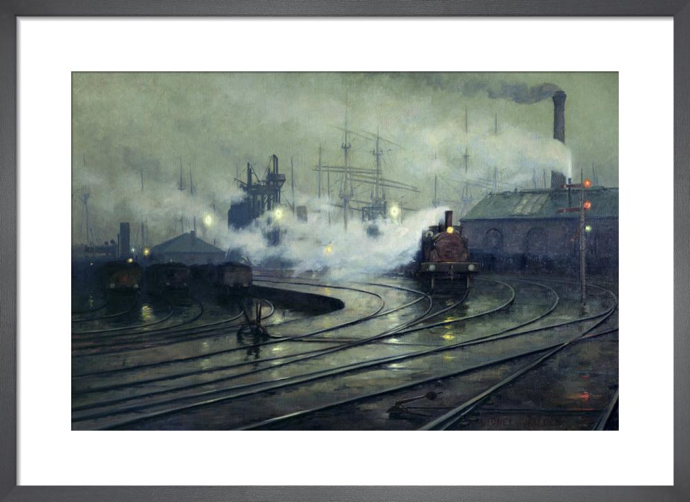 Cardiff Docks, 1896 by Lionel Walden