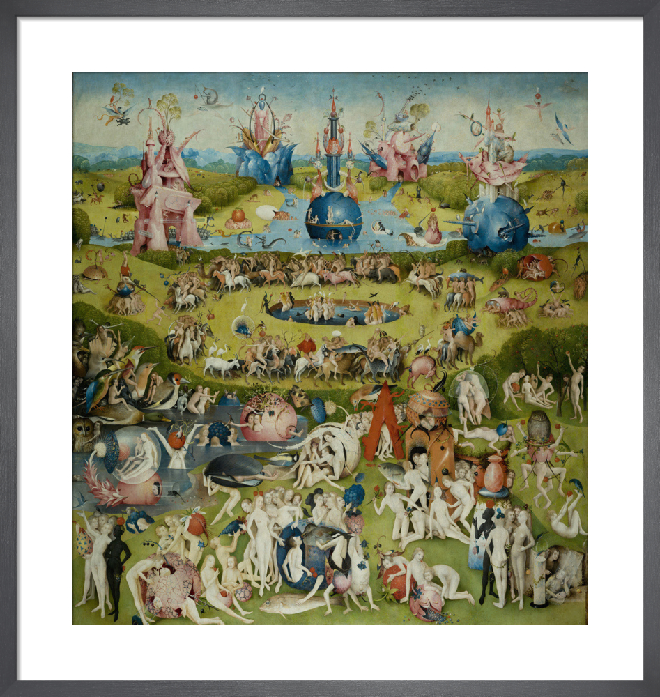 The Garden of Earthly Delights Allegory of Luxury