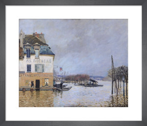 The Flood at Port-Marly, 1876 by Alfred Sisley