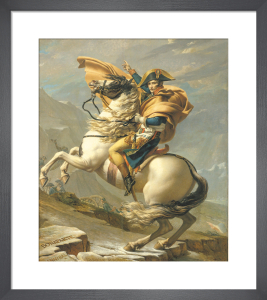 Napoleon Crossing the Alps, 1803 by Jacques-Louis David