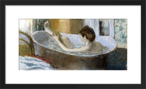 Woman in her Bath Sponging her Leg, c.1883 by Edgar Degas