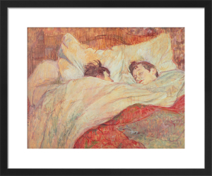 The Bed, c.1892 by Henri de Toulouse-Lautrec