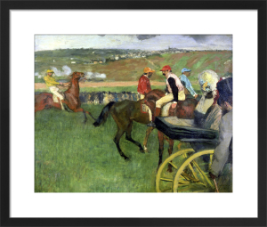 The Race Course, c.1876 by Edgar Degas