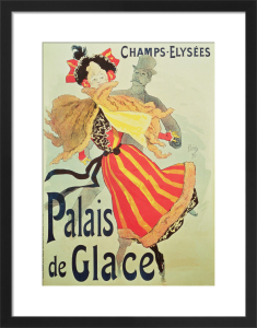 Ice Palace, Champs Elysees, Paris, 1893 by Jules Cheret