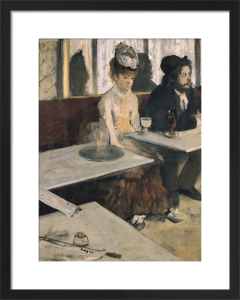 Absinthe by Edgar Degas