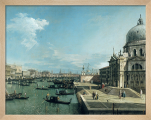 The Entrance to the Grand Canal, Venice by Giovanni Canaletto