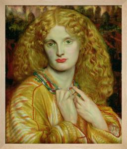 Helen of Troy, 1863 by Dante Gabriel Rossetti