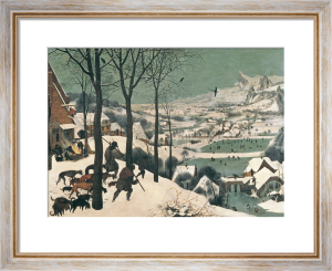 Hunters in the Snow, February 1565 by Pieter Brueghel The Elder