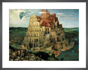 Tower of Babel, 1563 by Pieter Brueghel The Elder