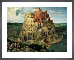 Tower of Babel, 1563 by Pieter Brueghel The Elder
