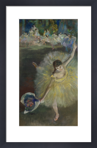 End of an Arabesque, 1877 by Edgar Degas
