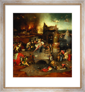 Temptation of St.Anthony by Hieronymus Bosch