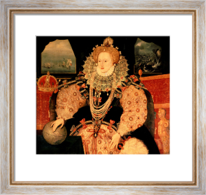 Elizabeth I, Armada Portrait, c.1588 by English or French School