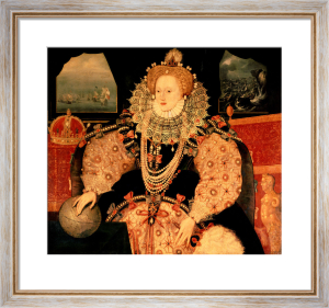 Elizabeth I (Armada Portrait), c.1588 by English or French School