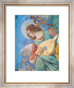 Angel Musician (fresco) by Melozzo da Forli